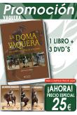 PACK DOMA VAQUERA. LA DOMA VAQUERA DEL CAMPO A LA PISTA + 3 DVD´S
