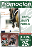 A) PACK SANTO. MONTAR CON SENSIBILIDAD + 2 DVD´S SALTO DE OBSTACULOS