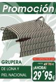 GRUPERA DE LONA