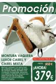 MONTURA VAQUERA LUXOR CAIREL