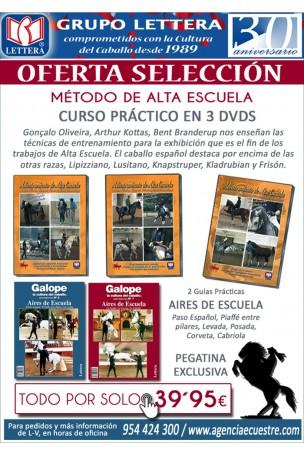 PACK ALTA ESCUELA. 2 GUIAS AIRES DE ESCUELA + 3 DVD´S