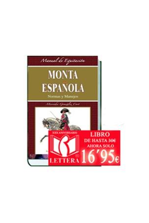 LIBRO MONTA ESPAÑOLA, NORMAS Y MANEJOS