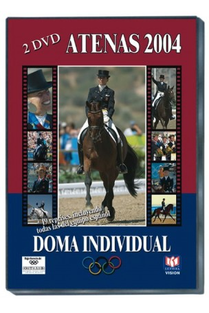 JJ.OO ATENAS 2004. Doma Individual. 2 Dvds