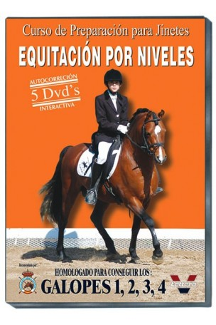 DVD Galopes 1, 2, 3 y 4