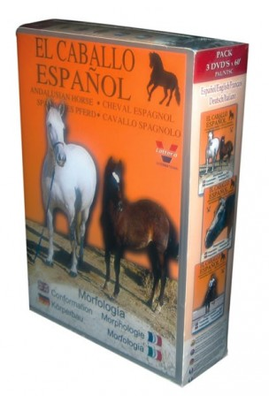 Pack El Caballo Español. 3 DVDs