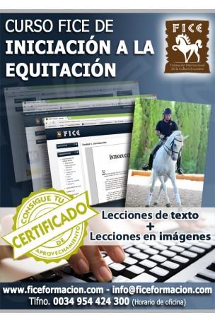 Curso FICE de Iniciación a la Equitación (Online)