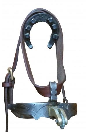 Espuela Luxor Tradicional Española Acero Inox. Gallo Dorado