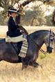 Horsewomen Riding