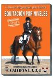 Equitación por niveles. Curso de preparación para jinetes. Pack de 5 DVDs