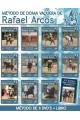 A) Metodo Doma Vaquera Rafael Arcos. 11 DVDs + 1 Libro El Habla del Jinete Andaluz